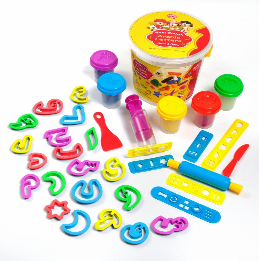 Fun Dough Arabic Letters
