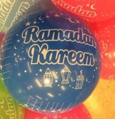 BALLOONS-RAMADAN MULTI COLS (10 Pack)