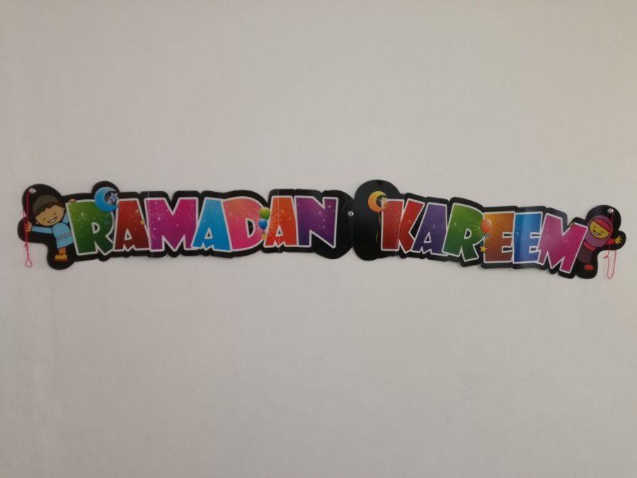 CARDBOARD BANNER - RAMADAN KAREEM
