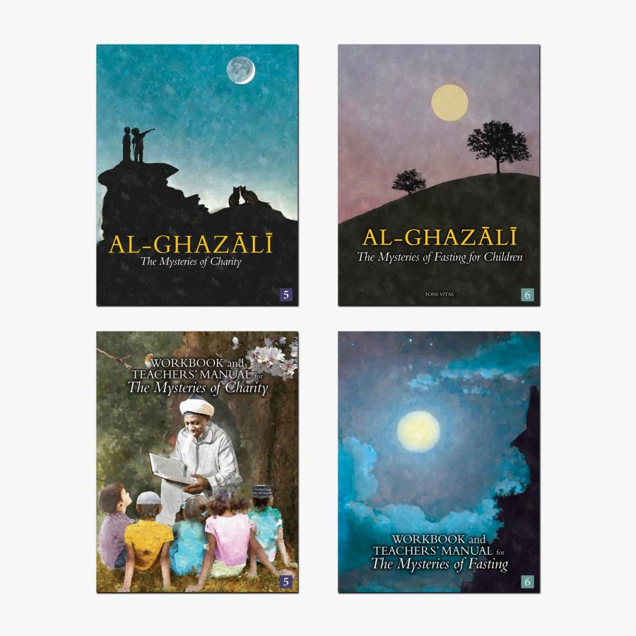 Al-Ghazali Children's Full Book Set (The Mysteries of Charity & Fasting for Children)