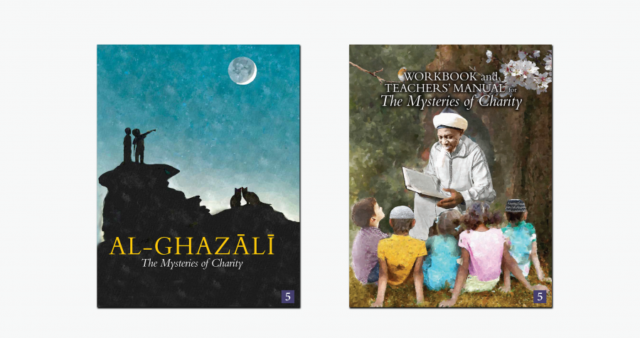 Al-Ghazali Children's Book Set 5 (The Mysteries of Charity) - Set of 2 Books