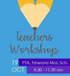 Teachers Workshop - Pretoria
