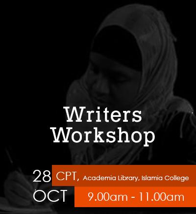 Writers Workshop - Cape Town